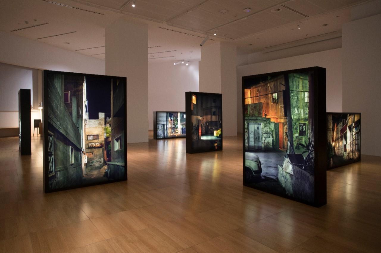 NYUAD Art Gallery Permanent Temporariness